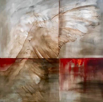 Solstices, Panel II, By Saskia Ozols. Private Collection.