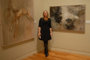 Saskia at the Cape Cod Museum of Art, 2012
